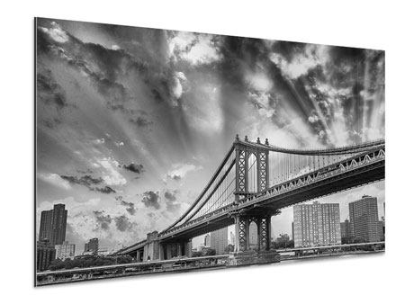 Aluminium Print Manhattan Bridge