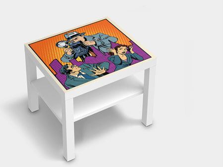 Furniture Foil Pop Art Paparazzi