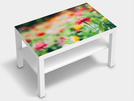 Furniture Foil In Flower Garden