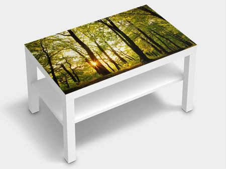 Furniture Foil Sunset Between Trees