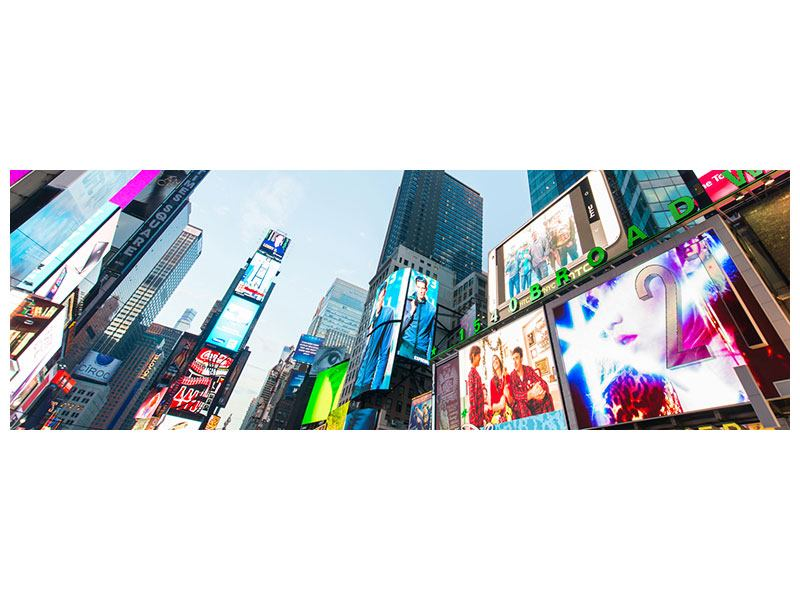 Stampa su Forex Panoramica Shopping a New York