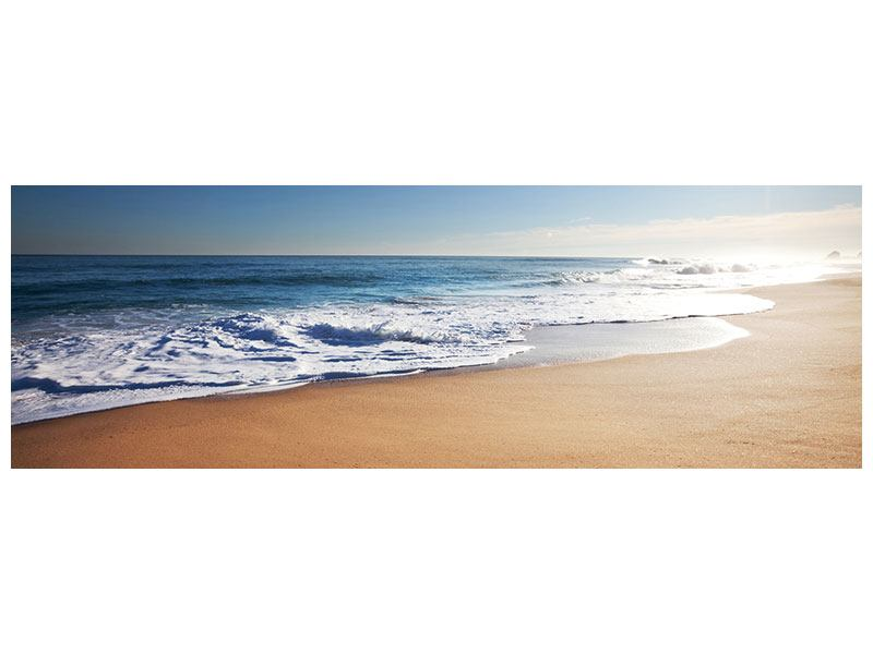 Panoramic Forex Print Private Beach
