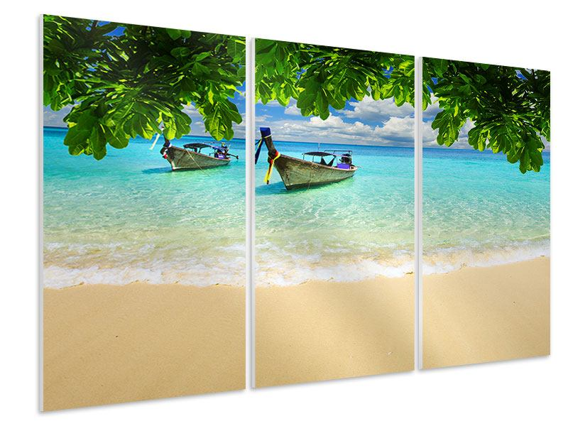 3 Piece Forex Print A View Of The Sea