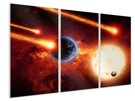 3 Piece Forex Print The Cosmos