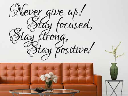 Wall Sticker Stay!