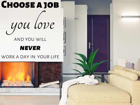 Wall Sticker Job Wisdom