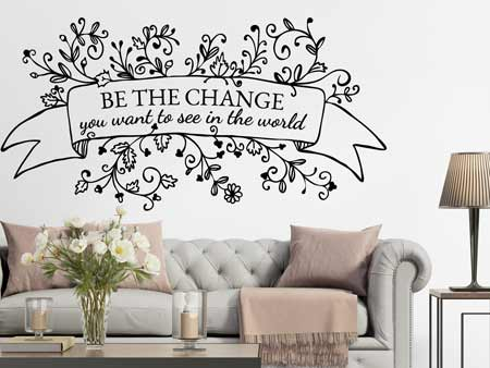 Wall Sticker Change