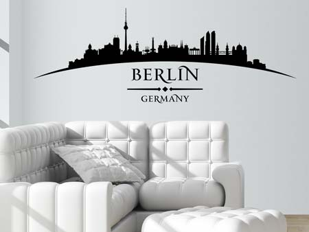 Wall Sticker Skyline Berlin