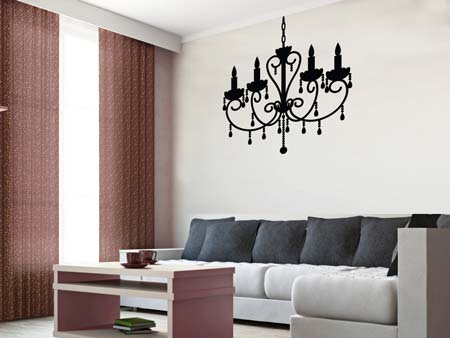 Wall Sticker chandelier