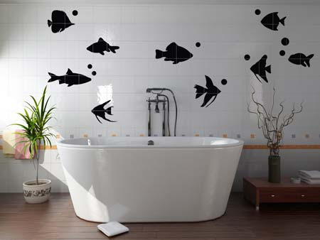 Wall Sticker 9 fish
