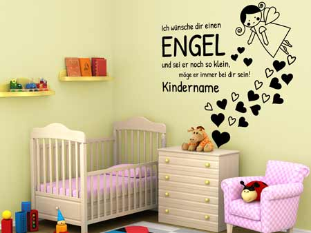 Wall Sticker Personal Guardian Angel