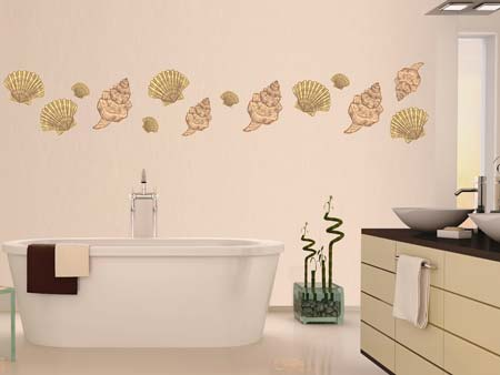 Wall Sticker hermosas conchas