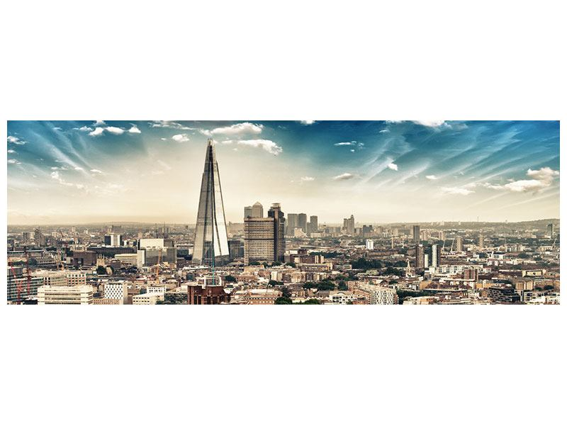 Panoramic Self-Adhesive Poster Skyline Over The Rooftops Of London