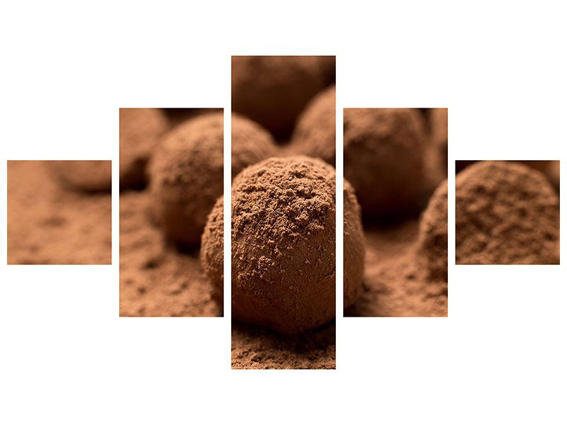5 Piece Self-Adhesive Poster Chocolate Truffles