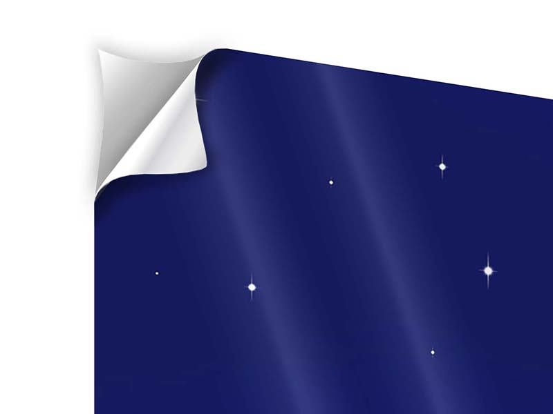 5 Piece Self-Adhesive Poster The Night Sky