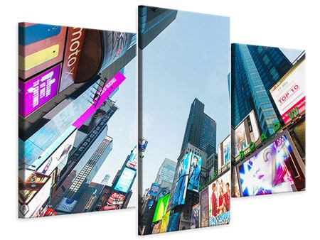Modern 3 Piece Canvas Print Shopping In NYC