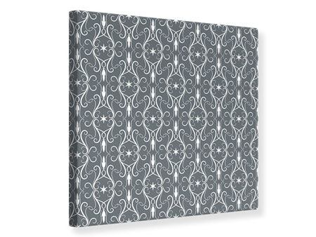 Canvas Print Baroque Pattern
