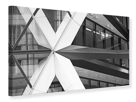 Canvas Print Part Of A Skyscraper