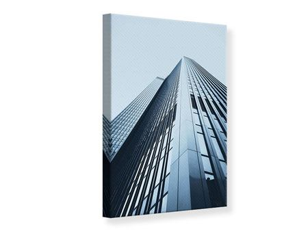 Canvas Print Highrise Sight