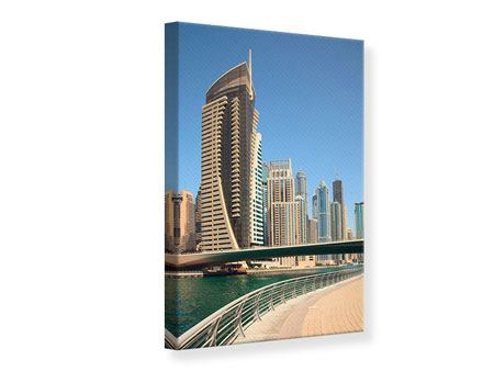 Canvas Print Walk In Dubai