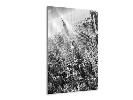 Metallic Print Skyscraper New York