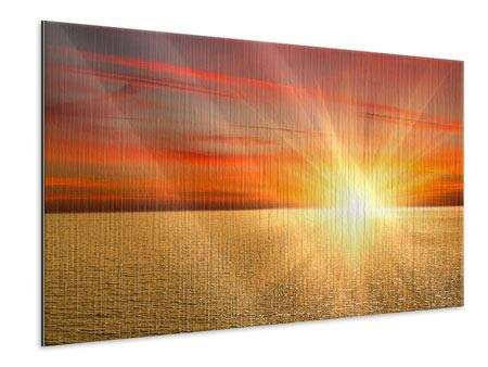 Metallic Print The Sunset