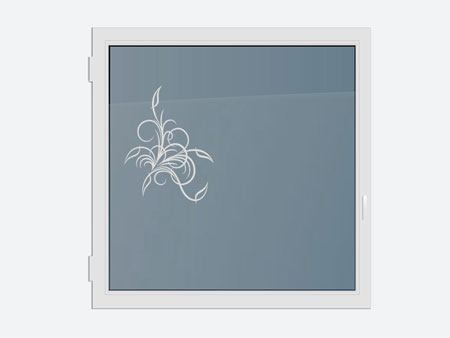 Decorative Window Film tender ornament