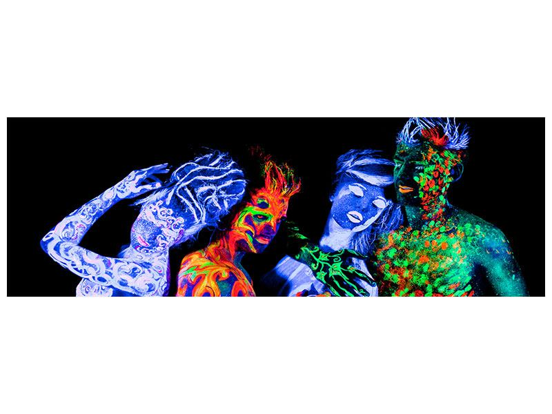 Panoramic Poster Bodypainting