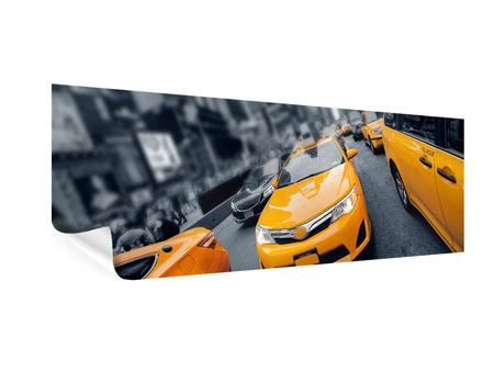 Poster Panoramica Taxi a New York
