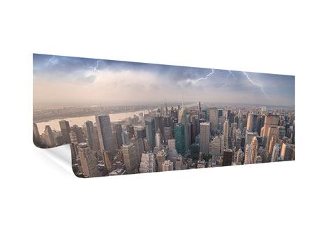 Poster Panoramica Manhattan