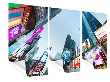 Poster 3 pezzi Shopping a New York