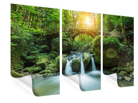 3 Piece Poster Water Reflection