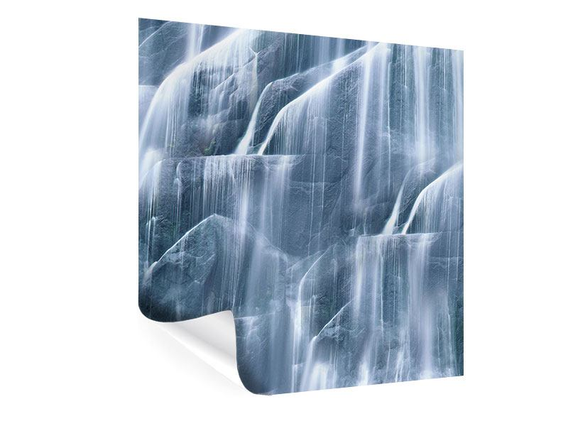 Poster Grey Waterfall