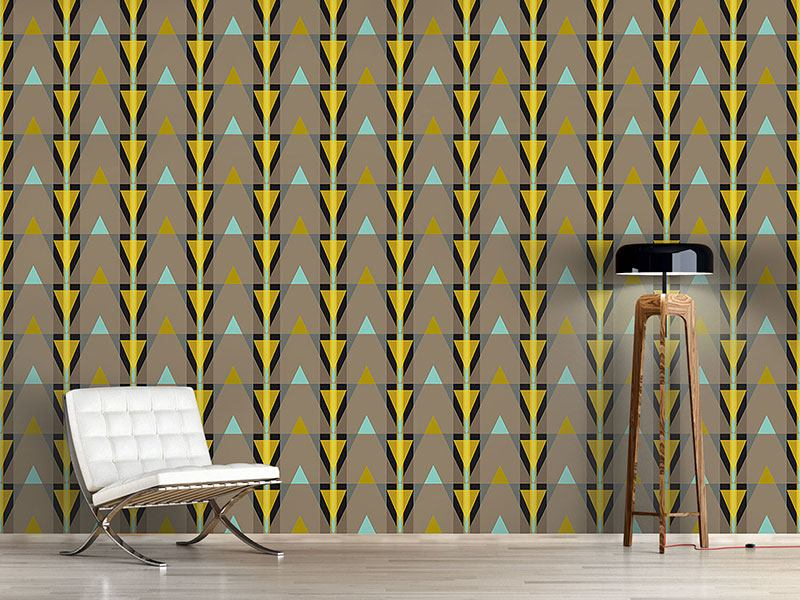Papier peint design Stripes or triangles