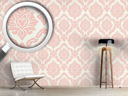 Design Wallpaper Pop Baroque Rose