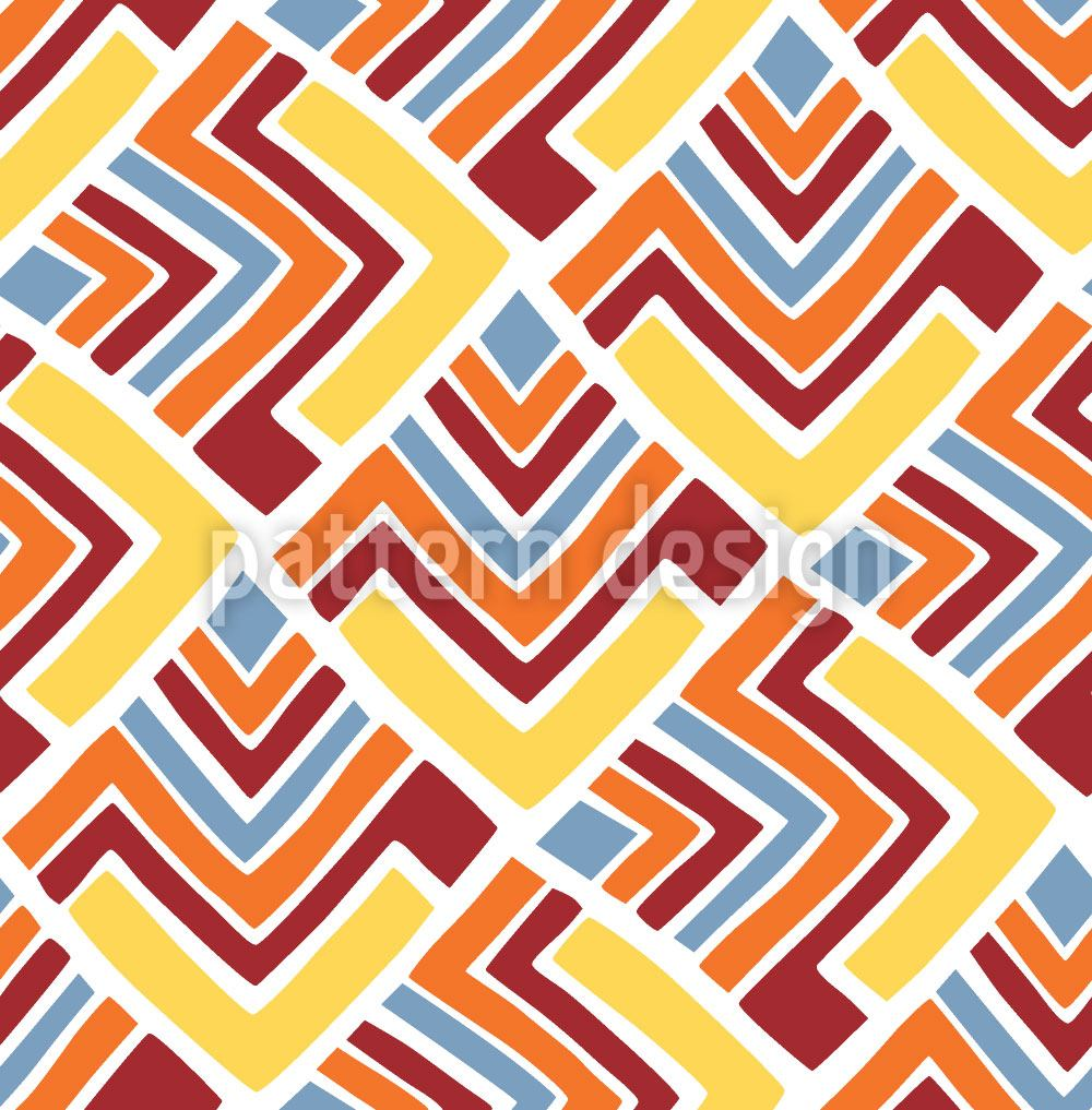 Design Wallpaper Boomerang Red