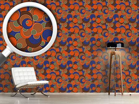 Design Wallpaper Retro Blubb