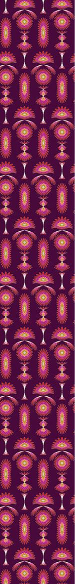 Papier peint design Boa Purple