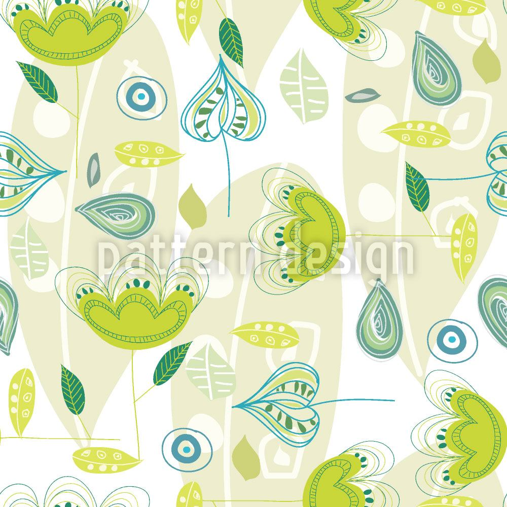 Papier peint design Yellow Dance