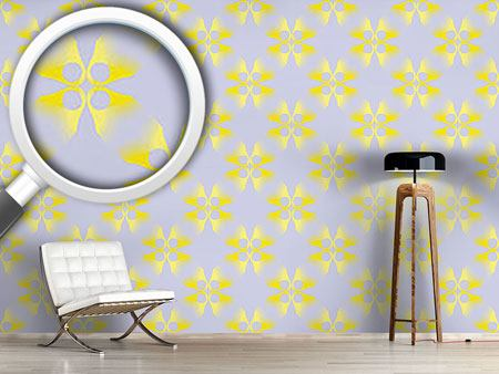 Design Wallpaper Flowers Lost On Lilacs