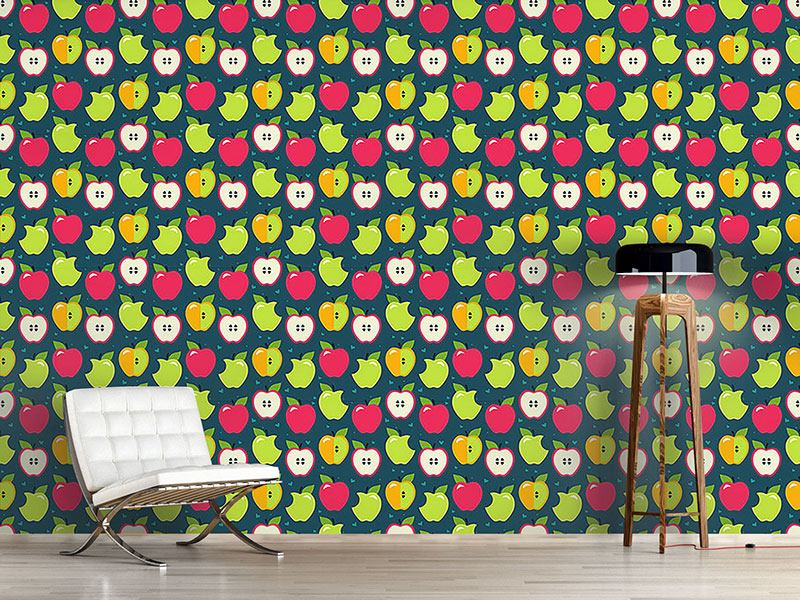 Design Wallpaper Bite The Apples