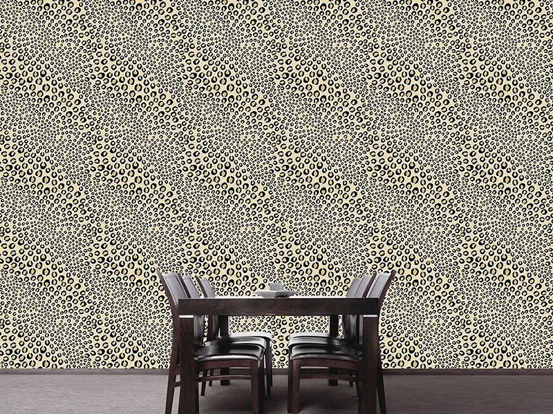 Design Wallpaper Leopards Want To Be Kissed