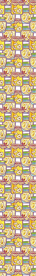 Papier peint design Stewed Fruits In The Glass