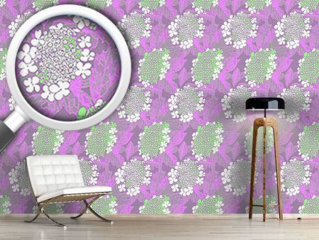 Design Wallpaper Viburnum Blossom