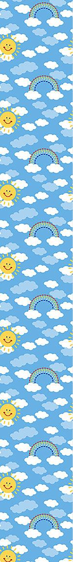 Papel tapiz de diseño Sunshine And Rainbows