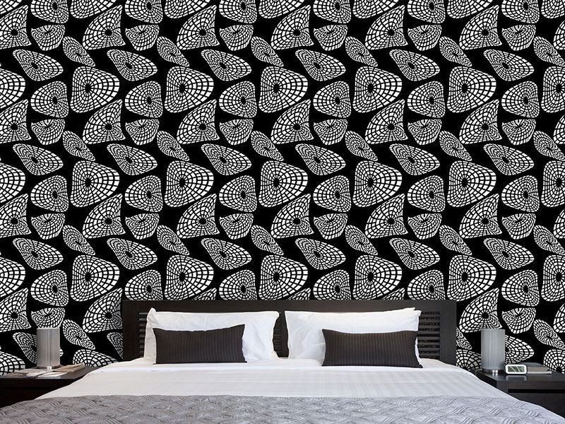 Design Wallpaper Moving Shapes
