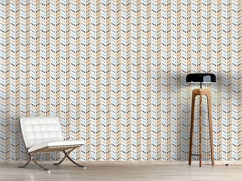 Design Wallpaper High Rise Chevron