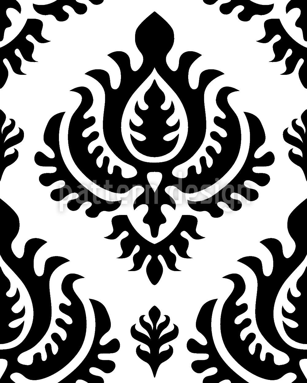 Design Wallpaper Black Baroque