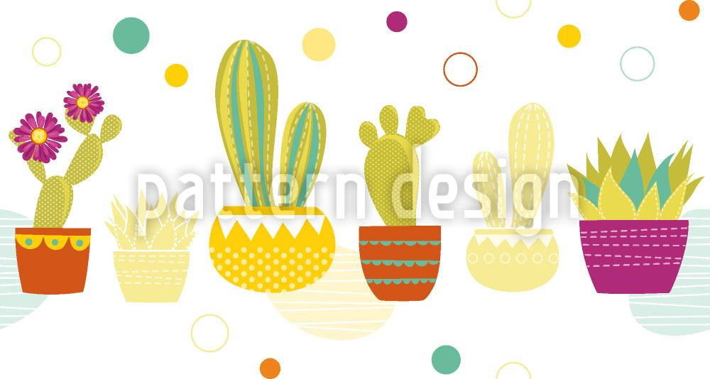 Design Wallpaper Species Of Cacti