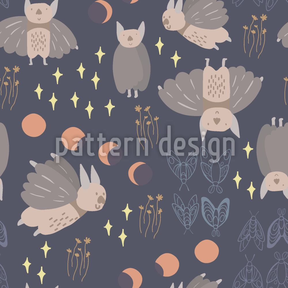 Papel tapiz de diseño Night Creatures